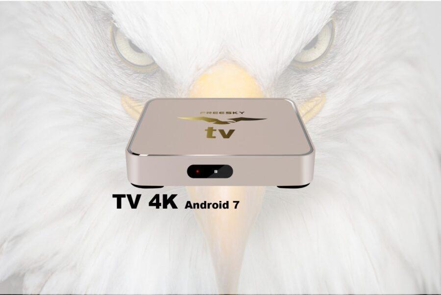 Freesky TV OTT 4K V 7.0.7.16 - 14-01-2020 (Nova Versão Hardware)